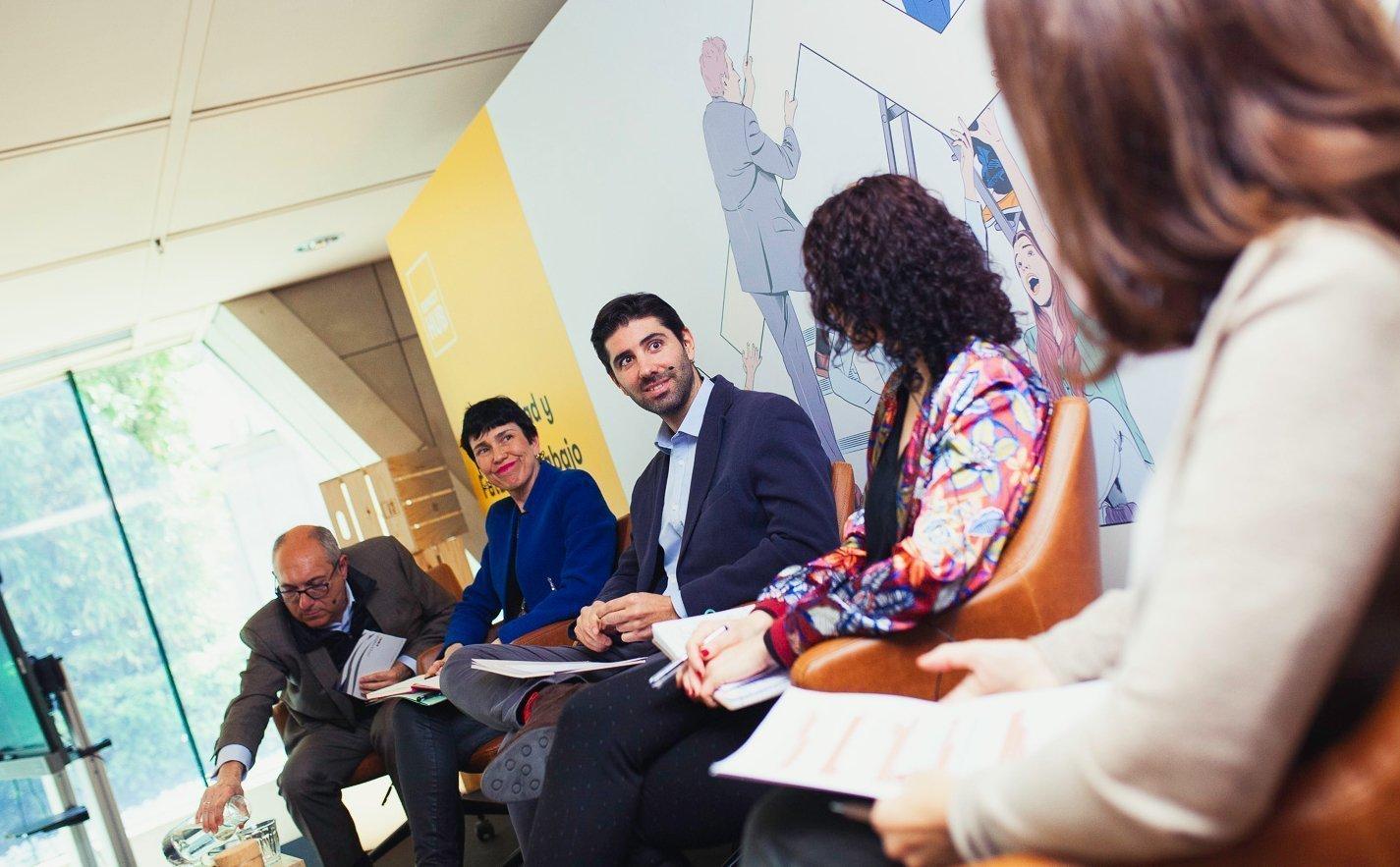 Debate sobre empleabilidad y el futuro del trabajo en Impact Hub Picasso
