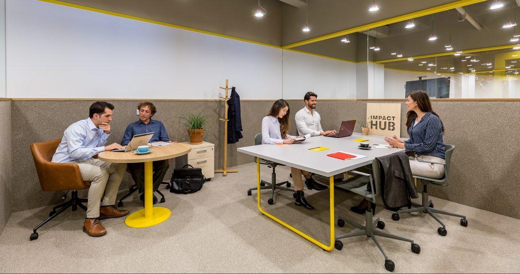 Despachos de 2 a 40 personas en Impact Hub Picasso
