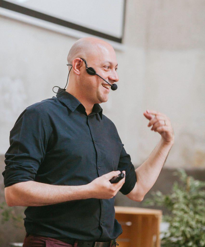Ponencia de Alberto Levy en el primer Lab de Innovación Rural
