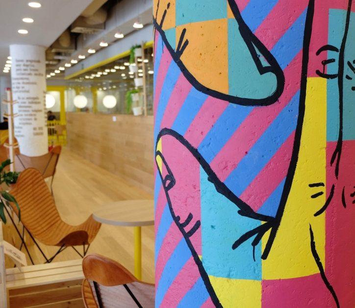 Arte en espacios de trabajo