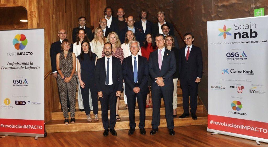 Foto de familia de Spain nab, Foro Impacto