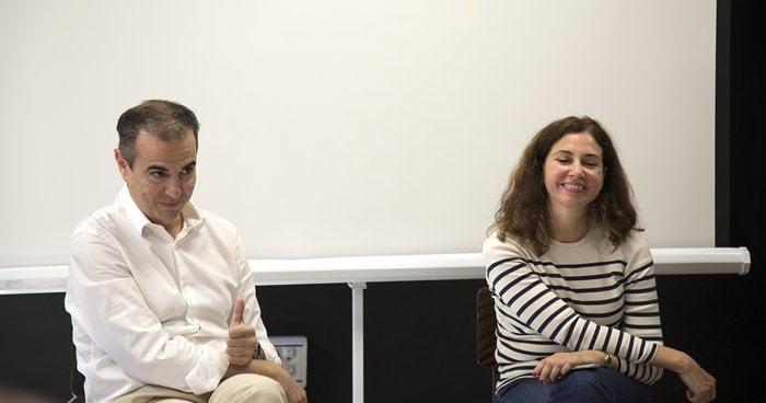 María Calvo de VIPS y Javier Sevilla de Facthum - Employment
