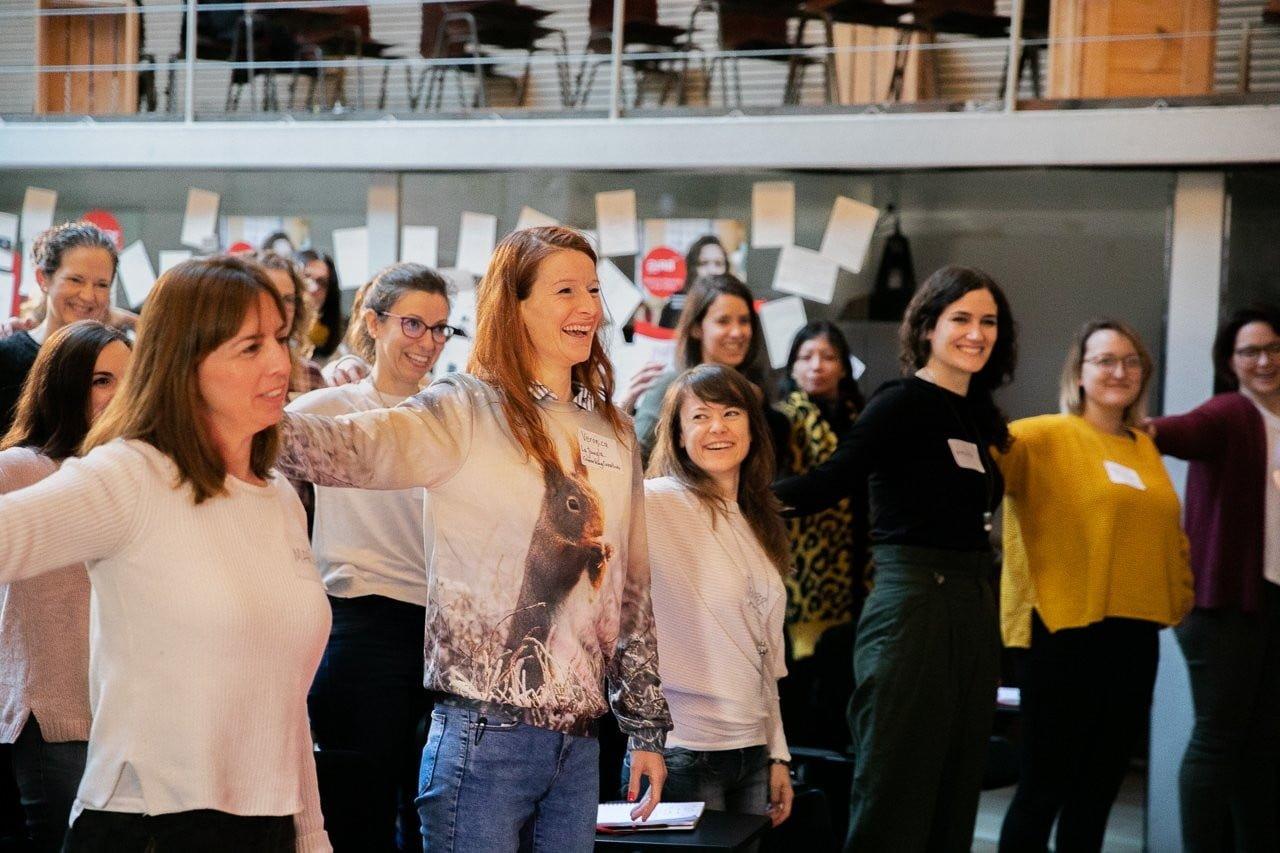 GIRA Mujeres Weekend, proyecto de impulso al emprendimiento femenino promovido por Coca Cola España, en Impact Hub Gobernador