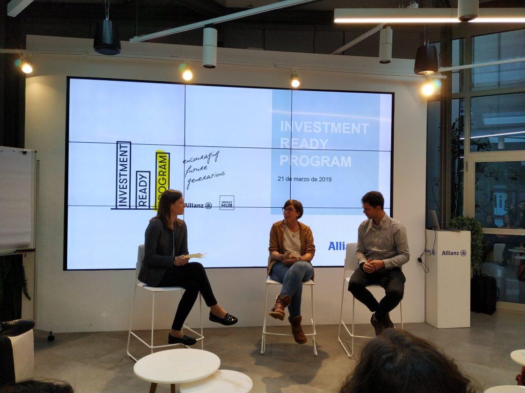 Presentación de Escuelab y Zadig en Allianz
