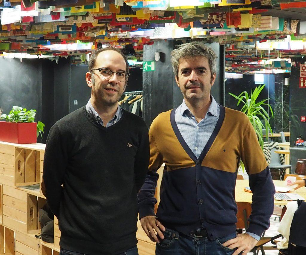 Ignacio Rodríguez y Alberto G. Ronda de Madrid GEO, punto de encuentro para interesados en geolocalización
