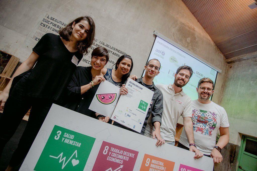 50 jóvenes, 6 retos, 17 Objetivos de Desarrollo Sostenible: así fue Global Goals Jam 2019