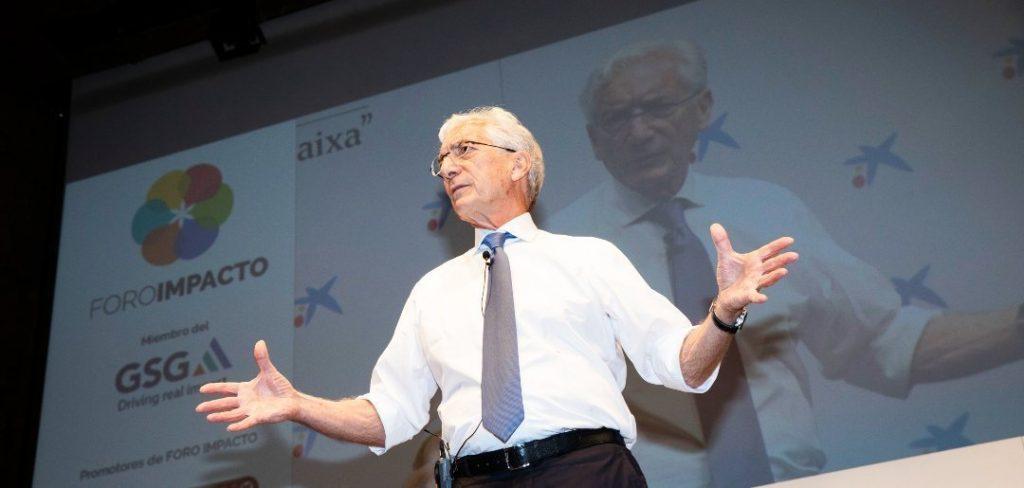 Sir Ronald Cohen inversión sostenible - Impact Hub