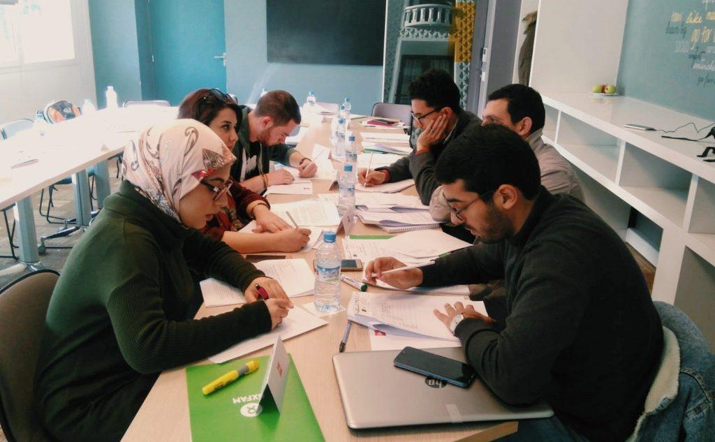 Participantes en plena formación de emprendimiento social
