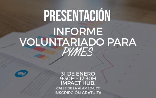 Presentación informe voluntariado para PYMES