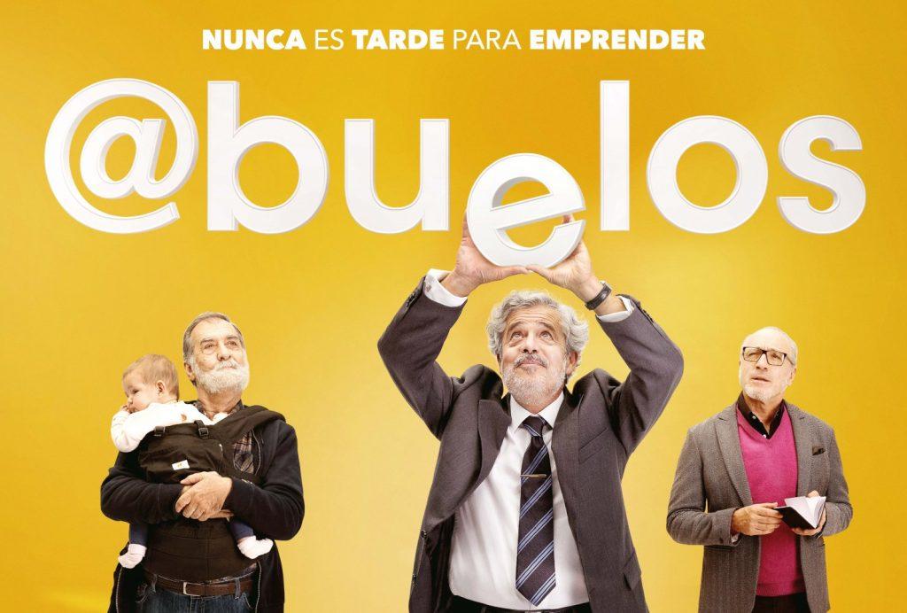 """Película """"Abuelos. Nunca es tarde para emprender"""". Imagen de abueloslapelicula.es"""