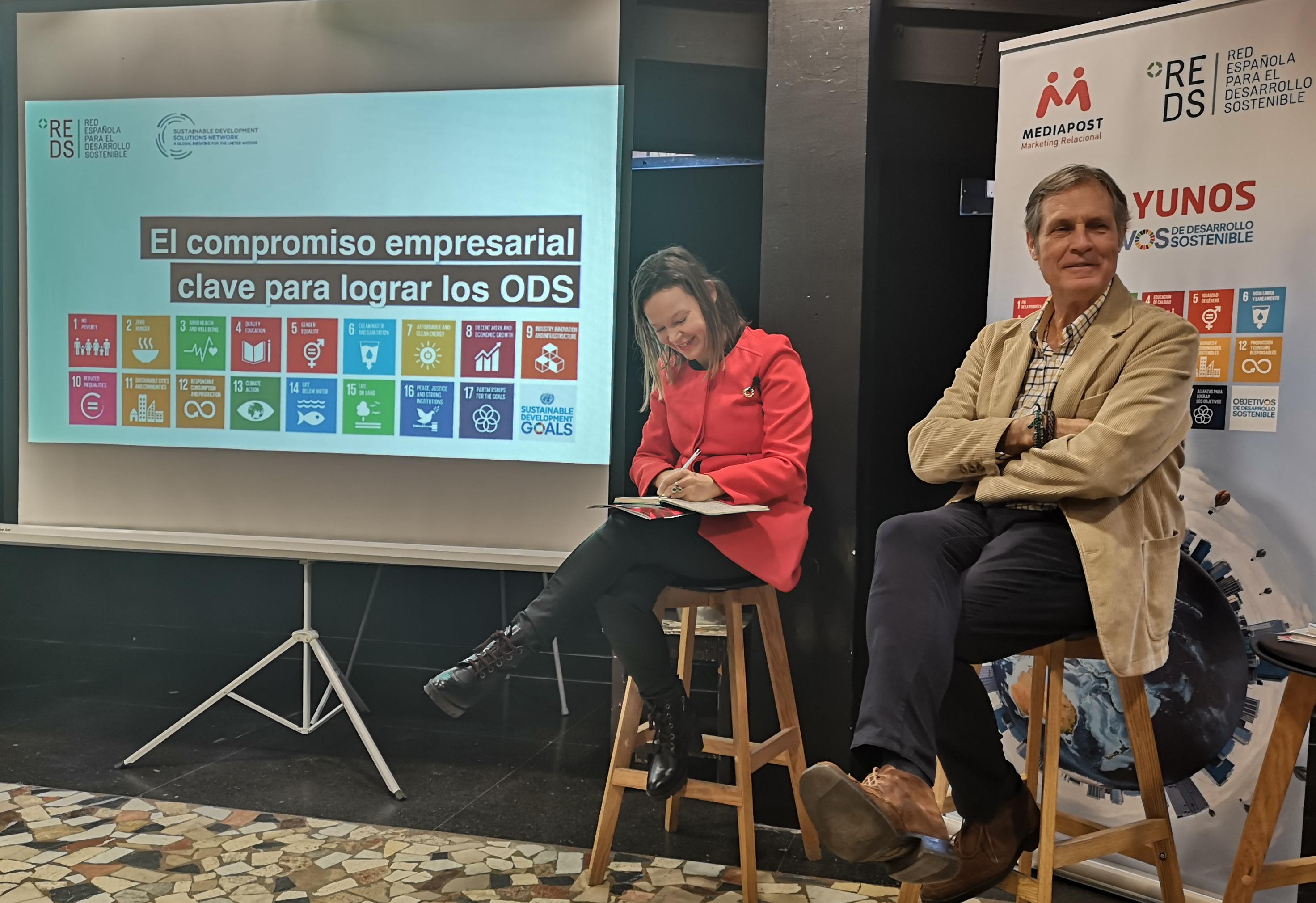Leire Pajín, presidenta de Red Española para el Desarrollo Sostenible