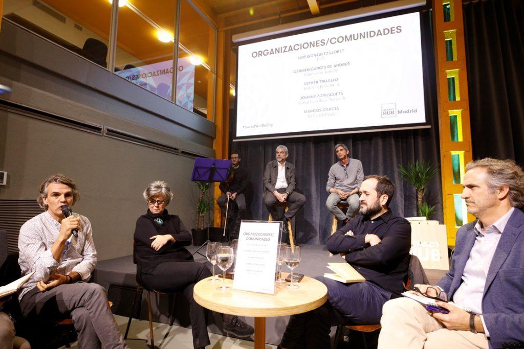 Presentación del ebook Social Wellbeing en Impact Hub Madrid