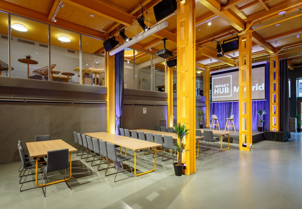 Impact Hub Prosperidad | Sala Europa