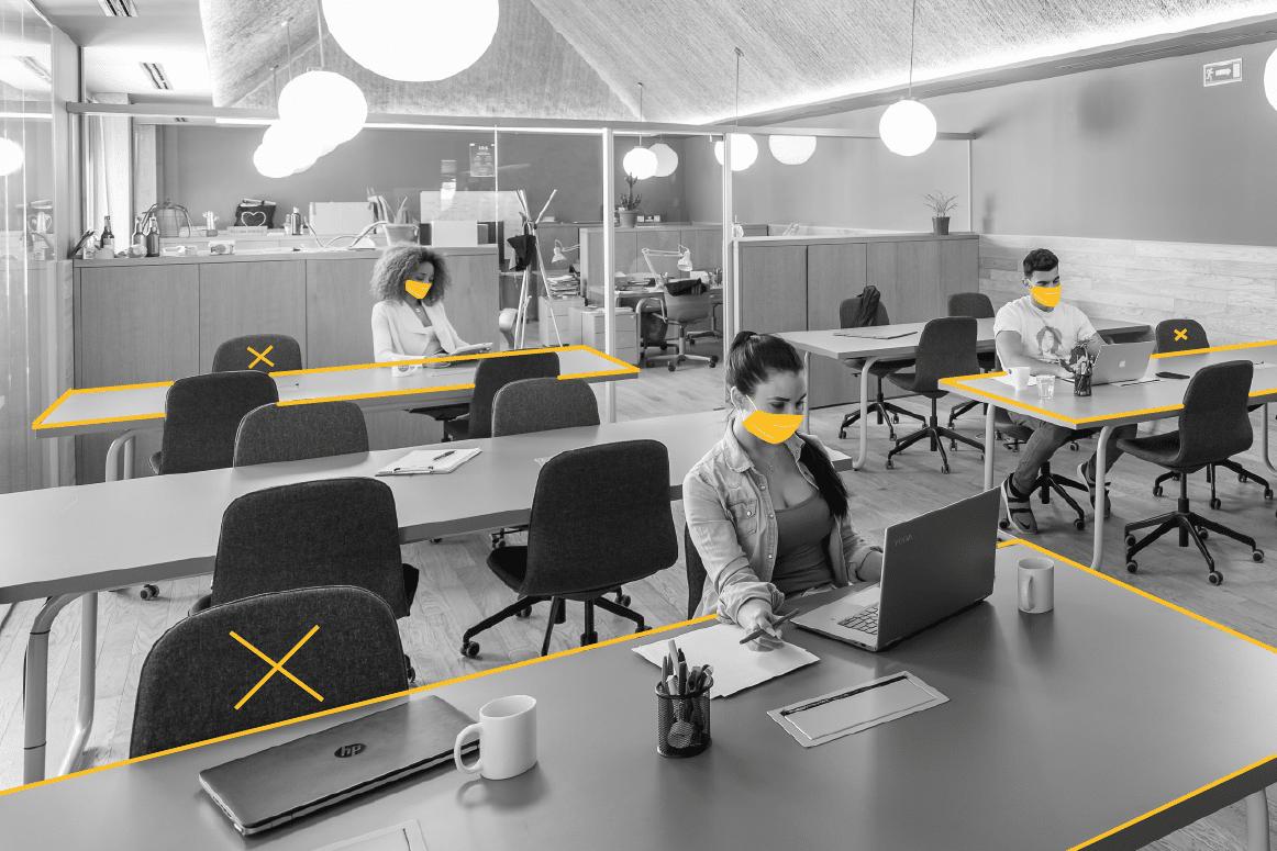 Medidas de seguridad y salud en tu espacio de coworking