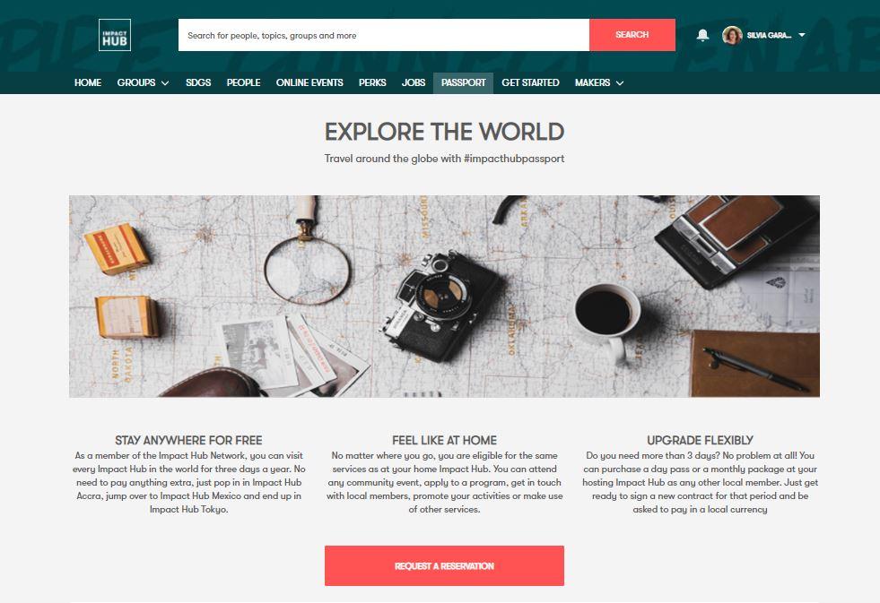 Comunnity-App-ImpactHub
