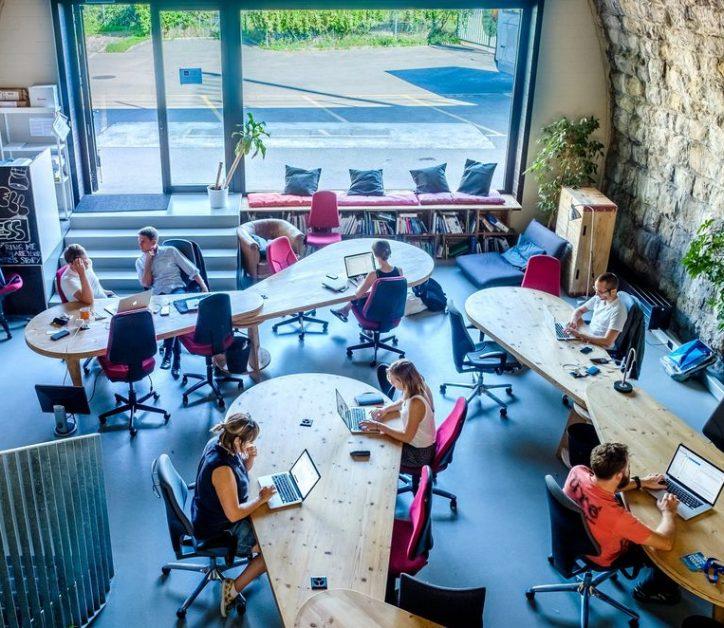 Coworkers en Impact Hub Zurich