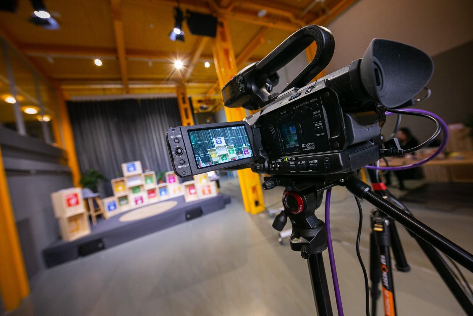 Salas para eventos online - Grabación y transmisión