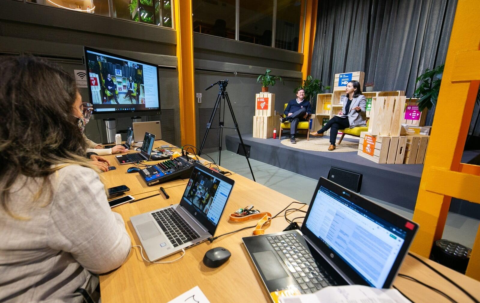 Salas para eventos online - Producción audiovisual
