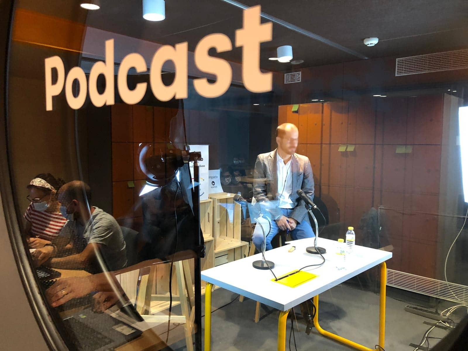 Salas para Eventos Online - Realización de Podcasts