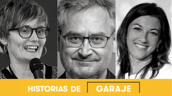 Isabel Roser de Hilo Sostenibilidad, Javier Garilleti  de  Lead by Thought y Ana Sainz de Fundación Seres