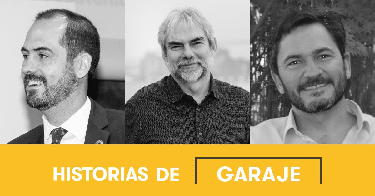 José Luis Ruiz de Munain, CEO de Spain NAB, Antonio González, CEO de Impact hub Madrid y José Moncada, Director General de La Bolsa social